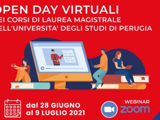 Dal 28 giugno al 9 luglio gli open day MagistralMente Unipg 2021