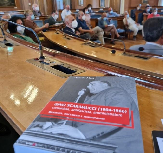 Presentato in Provincia il volume su Gino Scaramucci