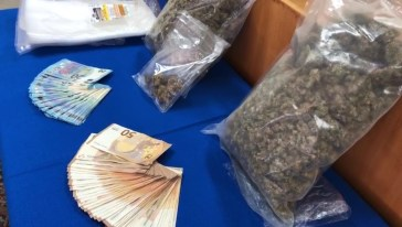A Terni dalla Puglia da uno a tre Kg marijuana a settimana 🔴 VIDEO