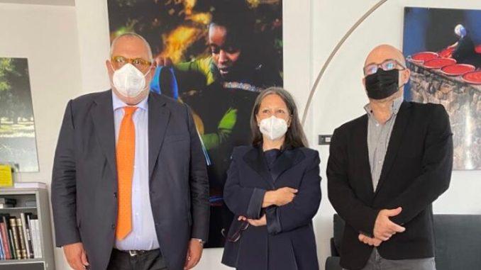 """Fioroni presenta il progetto umbro """"sustainable valley""""al ministro Cingolani presente anche Bastioli di Novamont"""