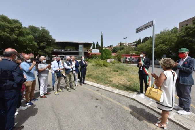 Intitolata a Giuliano Vassalli la piazza antistante il Minimetrò di Fontivegge