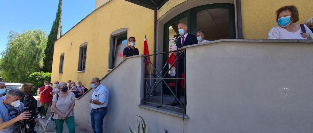 Una nuova Camera del Lavoro a Ponte San Giovanni: inaugurata la sede Cgil