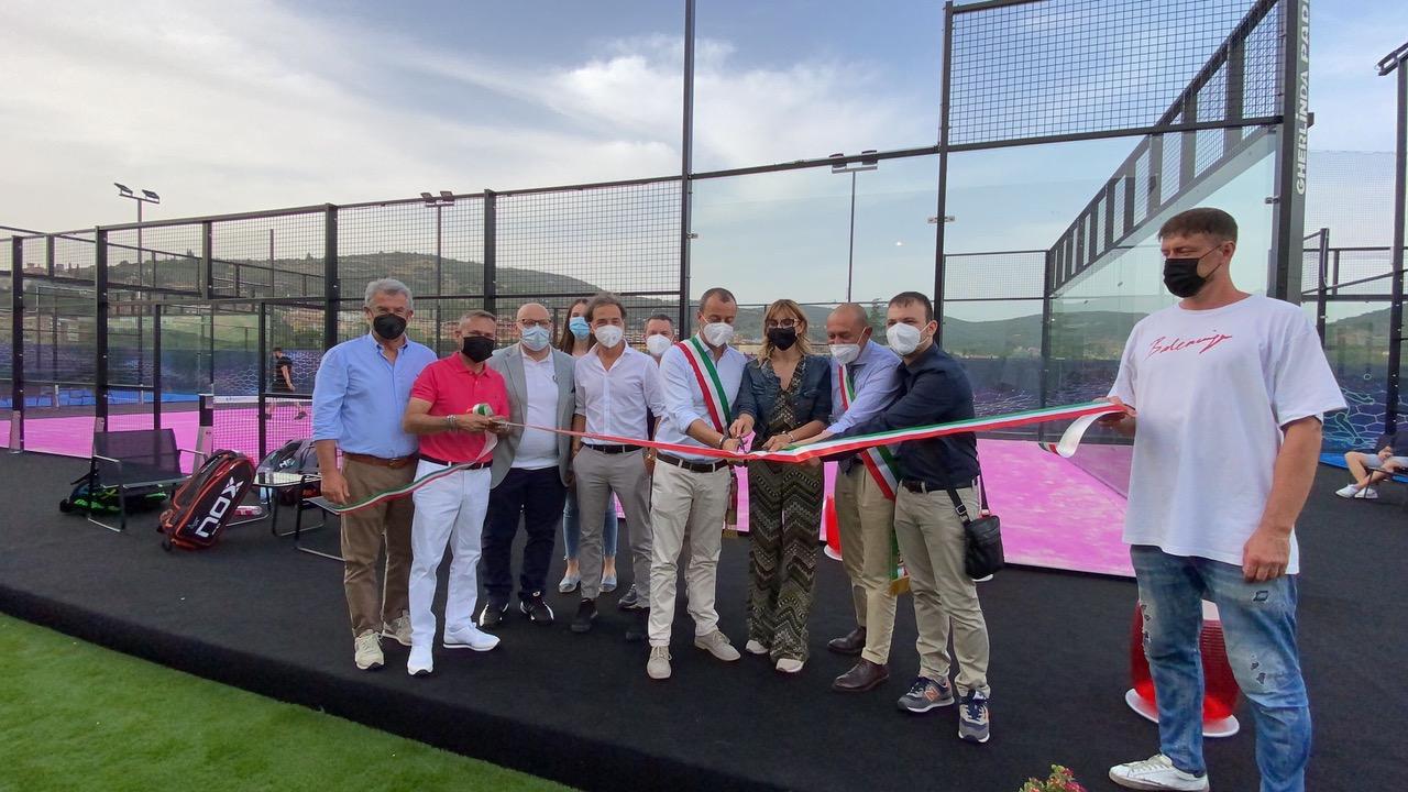 Inaugurato Gherlinda Padel, mercoledì 23 giugno la cerimonia di apertura