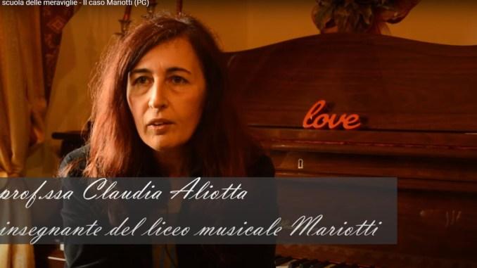Lettera di una professoressa del Liceo musicale Mariotti di Perugia