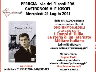 Presentazione libro I Campi di Tullio la storia Internato Militare Italiano