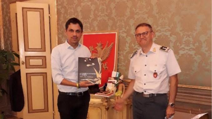 Gen. Benedetto Lipari, Guardia di Finanza, lascia Perugia, oggi dal sindaco Romizi