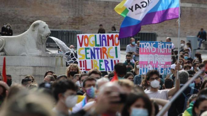 Garante Minori della Regione Umbria su proposta di Legge Zan. Foto Adnkronos