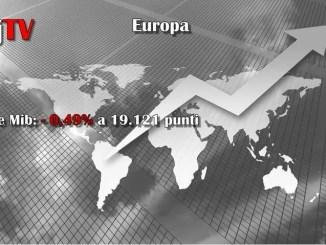 La Borsa del 22 dicembre 2016