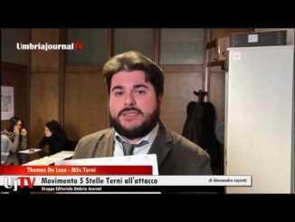 Movimento 5 Stelle all'attacco: il Comune di Terni è già fallito