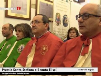 Premio Santo Stefano Costa di Trex Assisi al fotografo Renato Elisei
