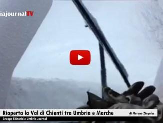 Riaperta in entrambe le direzioni la Val di Chienti tra Umbria e Marche
