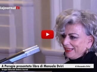 Giornata della Memoria Perugia, presentato il romanzo di Manuela Dvri