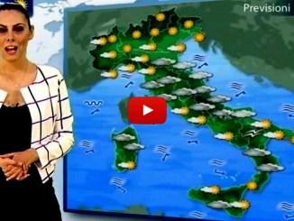 Previsioni del tempo, neve in esaurimento, ma l'emergenza rimane [VIDEO]