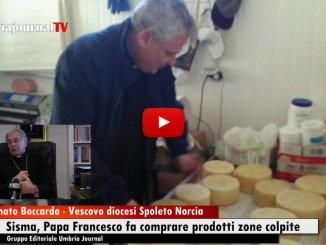 Terremoto, Papa Francesco fa comprare prodotti zone colpite, intervista Monsignor Boccardo