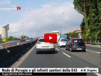 Nodo di Perugia, Onorevole Laffranco, gli infiniti cantieri della E45