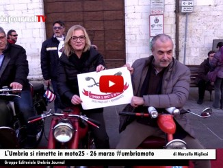L'Umbria si rimette in Moto straordinaria adesione per l'evento di Assisi