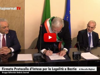 Firmato Protocollo d'Intesa per la Legalità a Bastia Umbra
