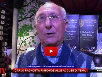 Carlo Pagnotta attacca la presidente della TeMa di Orvieto [VIDEO DICHIARAZIONE INTEGRALE]