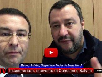 Inceneritore Terni, Matteo Salvini, la Lega Nord è con i consiglieri regionali