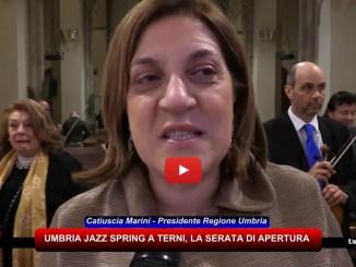 Umbria Jazz Spring a Terni, le interviste durante la prima serata