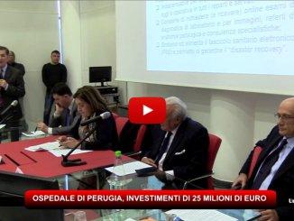 Ospedale di Perugia, 25 milioni di investimenti nel biennio 2017-2018