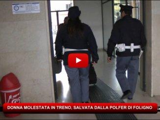 Donna molestata in treno da marocchino, salvata da Polfer di Foligno