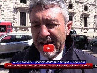 Il Centrodestra di Palazzo Cesaroni fa la conferenza stampa su post sisma, ma la Lega non partecipa