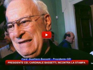 Presidente Cei Bassetti ha incontrato la stampa nella sua Perugia