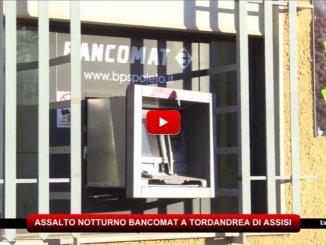 Malviventi fanno esplodere un bancomat a Tordandrea e fuggono con bottino