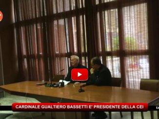 Il Cardinale Gualtiero Bassetti è stato nominato nuovo presidente della CEI