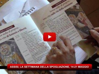 Assisi, santuario naturale di San Francesco, presentata la settimana della Spoliazione