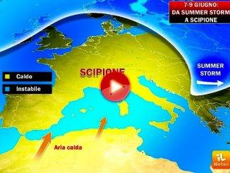 Meteo, 7-9 giugno, tre giorni con l'anticiclone SCIPIONE [VIDEO]