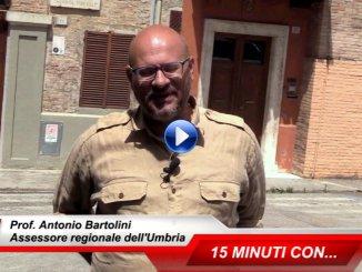 15 minuti con...intervista all'assessore Regionale, Antonio Bartolini