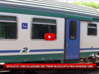 Circolazione dei treni bloccata per diverse ore tra Campello sul Clitunno e Spoleto