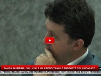Sanità in Umbria, Cgil, Cisl e Uil presentano le proposte del sindacato