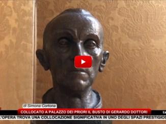 Collocato a Palazzo dei Priori il busto di Gerardo Dottori