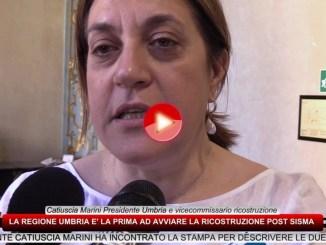 Terremoto, beni culturali, intervista alla Presidente Marini