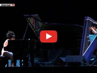 Hiromi ed Edmar Castaneda a Umbria Jazz, arpa e pianoforte al Santa Giuliana