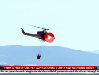 Incendi, firmato protocollo in prefettura tra Regione Umbria e Ministero
