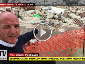 Geomorfologo solo monitoraggio previene disastri, video dichiarazione