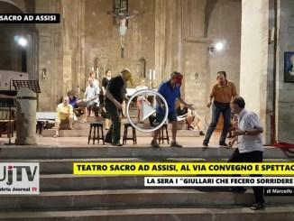 Teatro Sacro ad Assisi, tre giorni di convegno e spettacoli