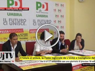 Il futuro ci unisce Festa regionale de L'Unità a Castiglione del Lago