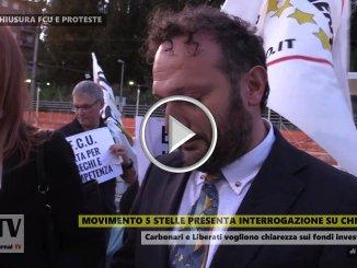 Carbonari e Liberati annunciano interrogazione su chiusura FCU