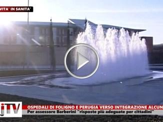 Sanità, collaborazione tra ospedale Foligno e azienda Ospedaliera Perugia