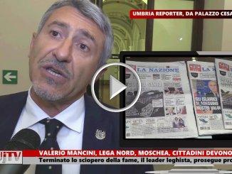 Valerio Mancini attacca ancora su moschea Umbertide, non mi fermo