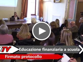 Scuola, educazione finanziaria, firmato protocollo d'intesa