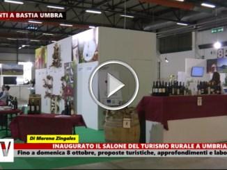 Inaugurato il Salone del Turismo Rurale a Umbriafiere di Bastia Umbra