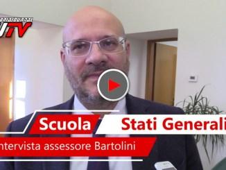 Stati Generali della scuola a Perugia, intervista all'assessore Antonio Bartolini