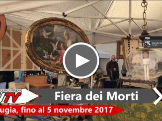 Perugia, inaugurata l'edizione 2017 della Fiera dei Morti
