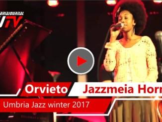 Jazzmeia Horn resident artist Umbria jazz winter ad Orvieto